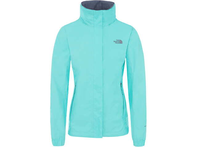 The North Face Resolve 2 Chaqueta Mujer, mint blue